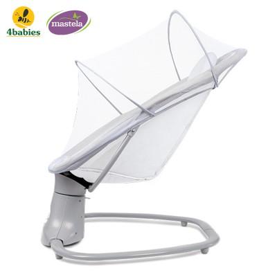 Nôi ru ngủ thư giãn kết hợp ghế ngồi đọc sách cho bé nhạc trắng Mastela 8102 - điều khiển từ xa - kết hợp Bluetooth