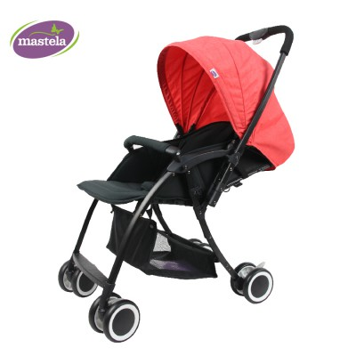 Xe đẩy 2 chiều siêu nhẹ Premium hiệu Mastela T05S màu đỏ