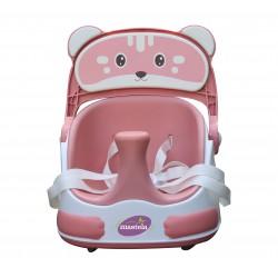 Ghế ăn xe kéo tập ngồi 3 trong 1 mèo hồng - Mastela - 1018