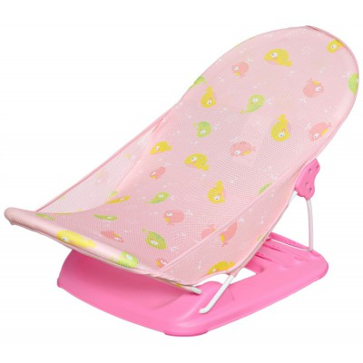 Ghế nằm tắm 2 vị trí ngả mastela hồng
