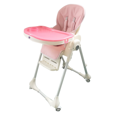 Ghế ngồi ăn dặm cao Mastela MSTL-1015-A-PU T7 màu hồng