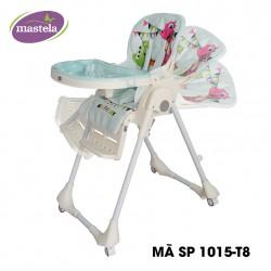 Ghế ngồi ăn dặm cao Mastela MSTL-1015-PUPRIN-T8 màu xanh hình con rồng